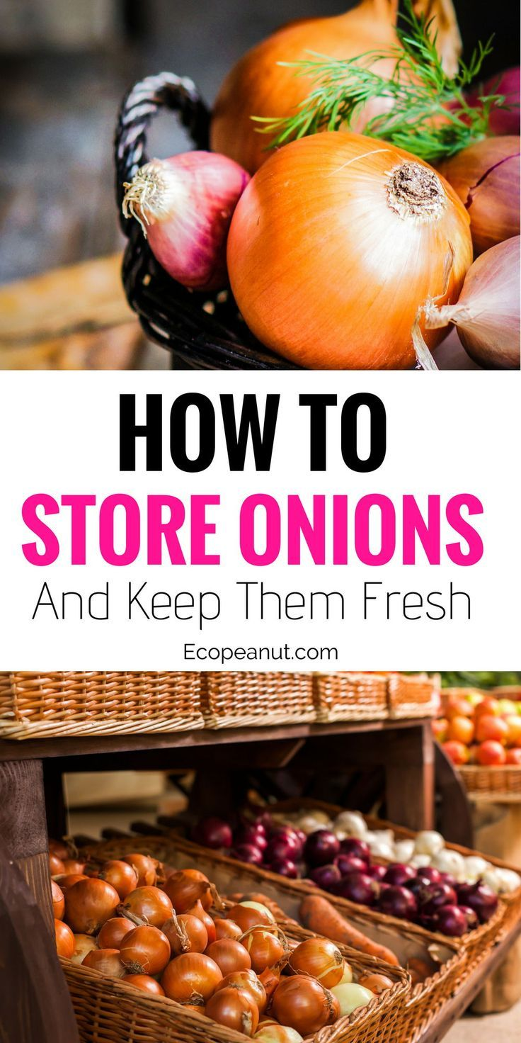 How to keep your onions fresh and crispy in your own home