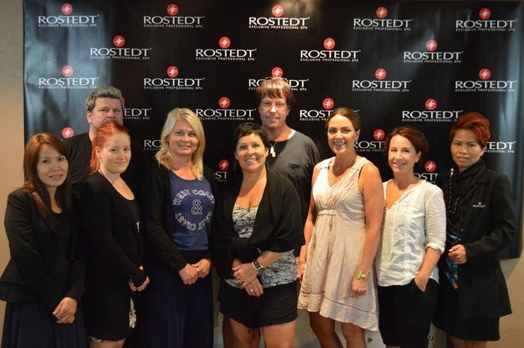 Rostedt Team Sweden on skin care training atHotel  Anantara, Bagnkok (oct 2014)