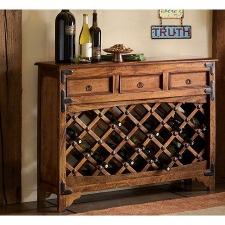 Amazon.com: Napa Style Wine Steward Console Table: Furniture U0026 Decor