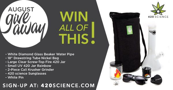 420 Science Midsummer Giveaway!http://420science.info/giveaways/420-augusts-midsummer-giveaway/?lucky=15105
