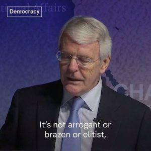 Former Conservative Prime Minister John Major says the 48 per cent of voters who voted rem #news #alternativenews