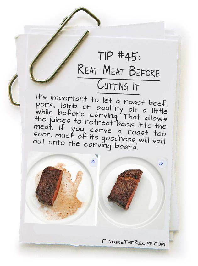 Rainbow Gospel Radio | Tip: Rest Meat Before Cutting It