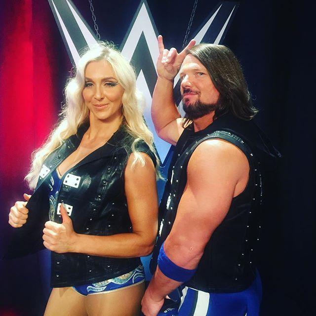 Charlotte Flair & AJ Styles