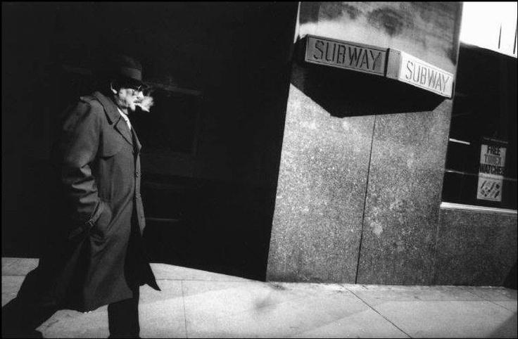 R Depardon. (Manhattan Out) '81