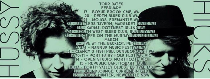 Hussy Hicks National Single Release and Tour - February to June 2018