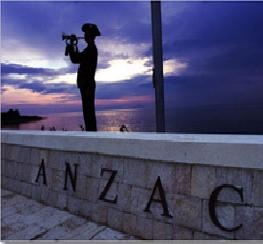 Where a nation came of age and the spirit lives on. Anzac Cove, Gallipoli, turkey