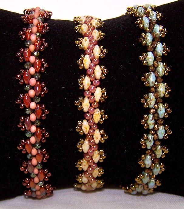 Lacy Super Duo Bracelet - the Bead Shoppe, Roseville