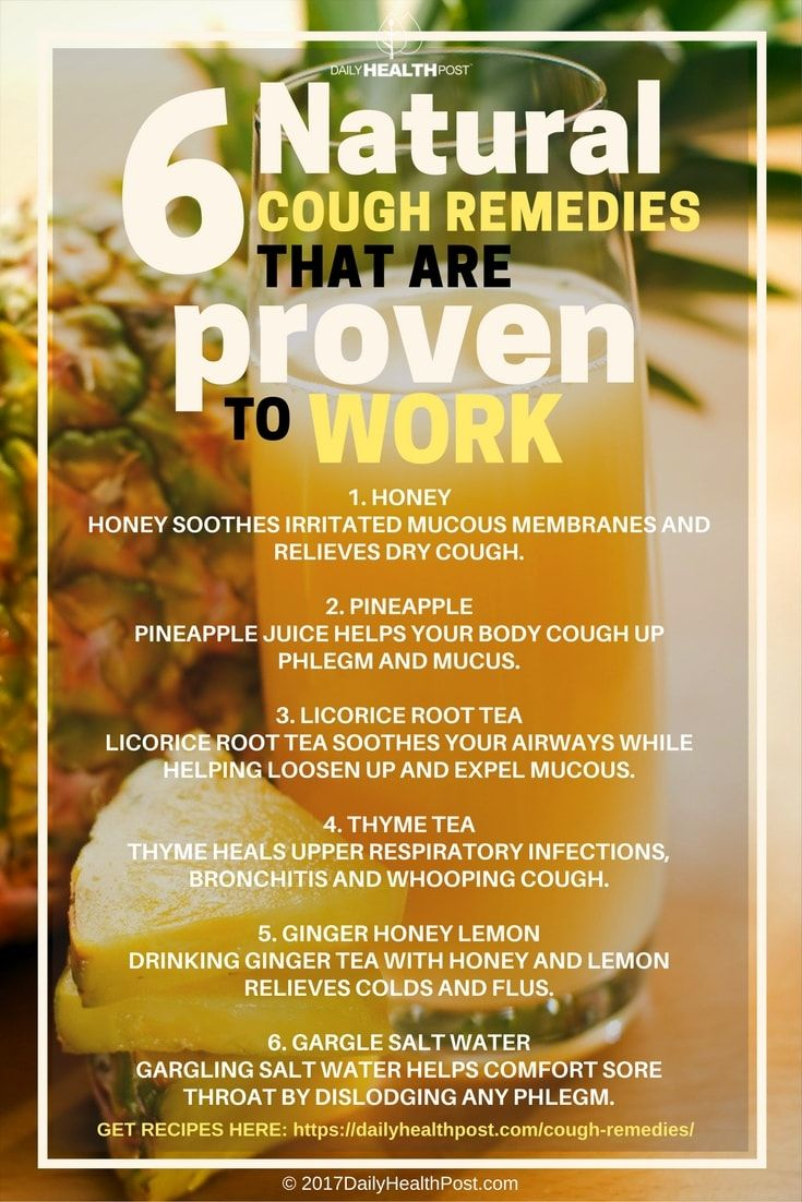 natural cough remedies that are proven to work! via @dailyhealthpost
