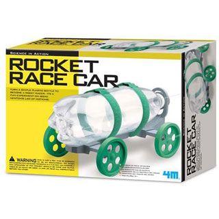 fun physics toys rocket race car from
