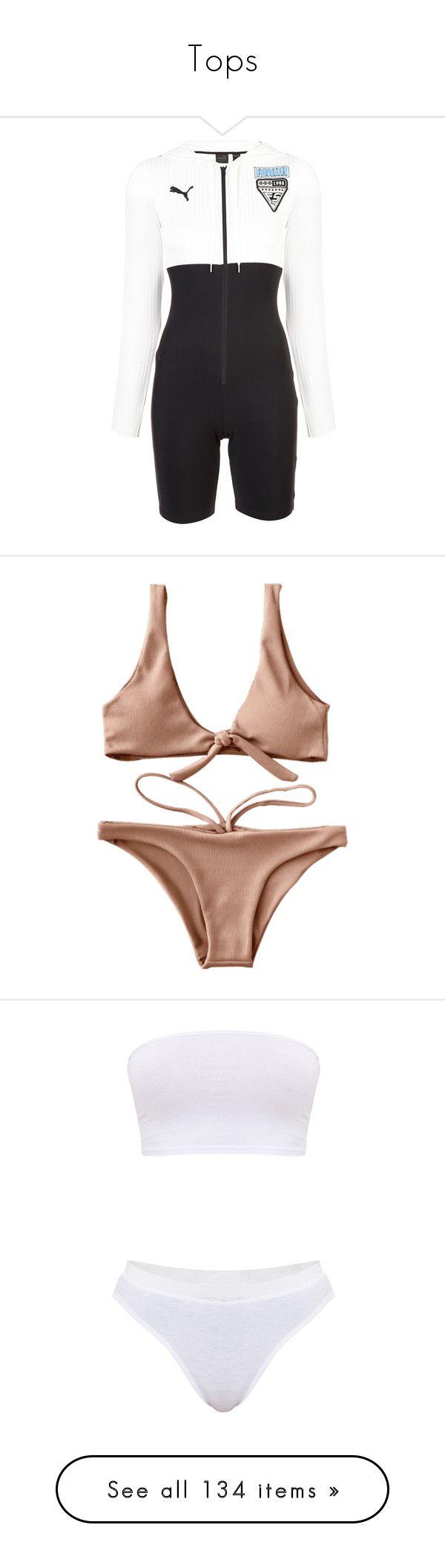 """""""Tops"""" by nbanyaaaaaaaaaa ❤ liked on Polyvore featuring black, swimwear, bikinis, underwear, bikini beachwear, scoop-neck bikinis, bikini swim wear, textured bikini, bikini two piece and intimates"""