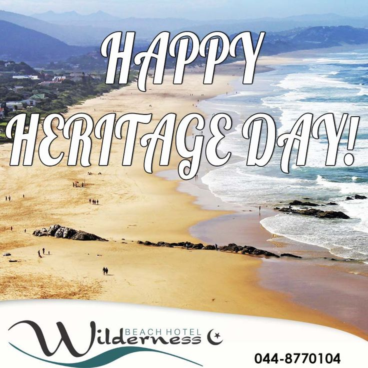 Did you know that Wilderness Beach has a braai area? What's a better way to spend your Heritage day! #braaiday #heritageday