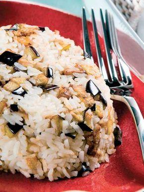 Patlıcanlı pilav Tarifi - Türk Mutfağı Yemekleri - Yemek Tarifleri