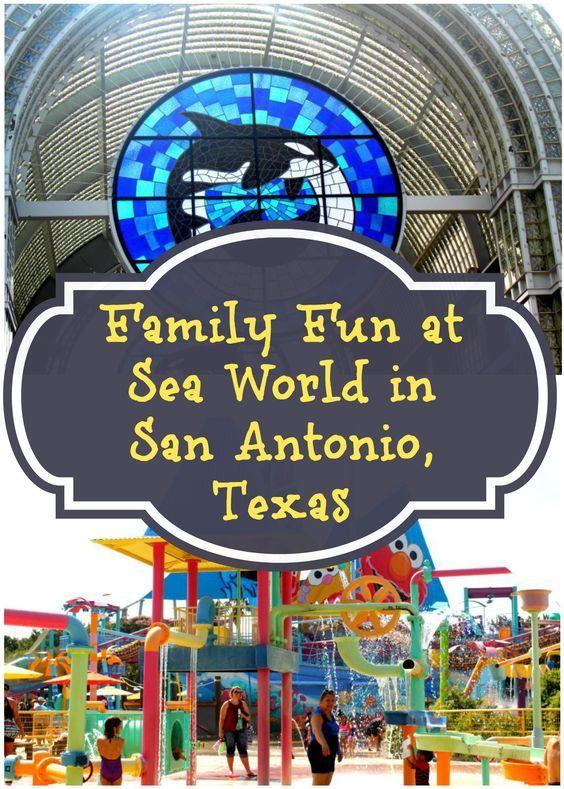 Family Fun at Sea World in San Antonio Texas