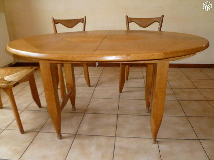 Table et chaises Guillerme et Chambron Ameublement Bas-Rhin - leboncoin.fr
