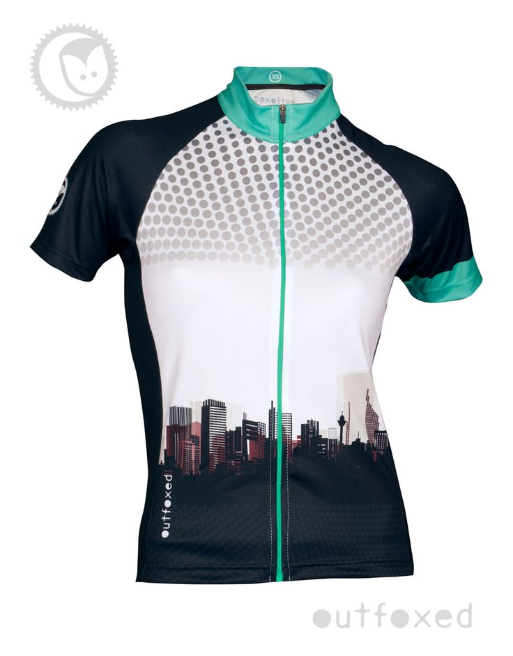 """#Urban Legend - Outfoxed womens jersey """"Start your story……..own the streets. It's your time, your style and your way.""""  www.outfoxedwomenscycling.co.uk"""