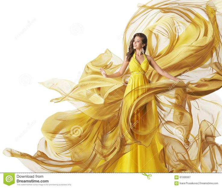 fashion-model-dress-woman-flowing-fabric-gown-clothes-white-flow-wind-yellow-61006567.jpg (1300×1106)