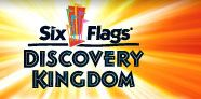 Six Flags Discovery Kingdom - A great vacation spot. Think Six Flags meets Sea World but not as crowded.