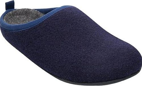 Camper Women's Shoes in Dark Blue Wool Color. With an ergonomic and simple design, the Camper Wabi Slipper gives good grip for interior use. Slip-on Flat heel.