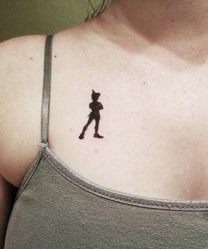 Peter Pan Neverland Disney Temporary Tattoo by PopGeekTattoos, $5.00