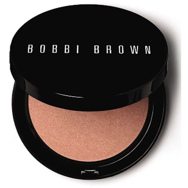 Bobbi Brown Bali Brown Illuminating Bronzing Powder ($40) ❤ liked on Polyvore featuring beauty products, makeup, cheek makeup, cheek bronzer, bali brown and bobbi brown cosmetics