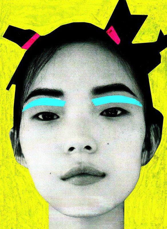 The illustrator putting beauty through a photocopier | Dazed