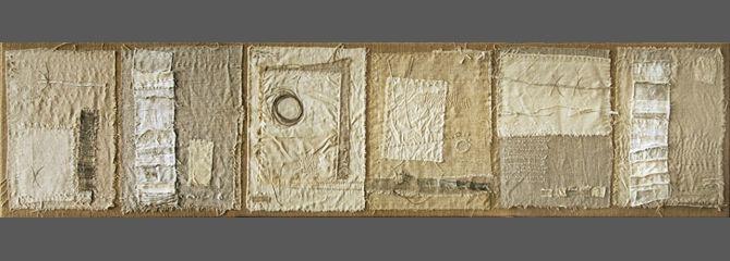Gizella Warburton - Dialogue (135 x 33cm)