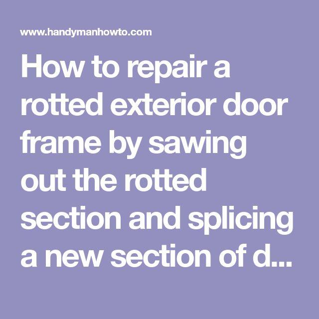 how to build a door jamb for an exterior door