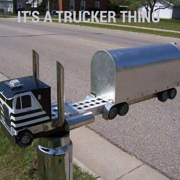 I want this my hubby drives a cab over ! #funny #truckers #meme www.supertruckparts.com