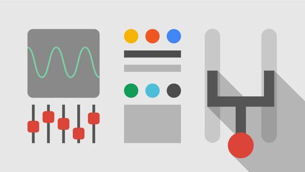 Google AdSense illustrations by Christopher Bettig, via Behance