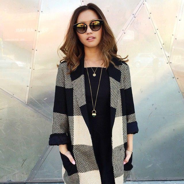 Jenn Im effortlessly rocking the Medina #DITAeyewear
