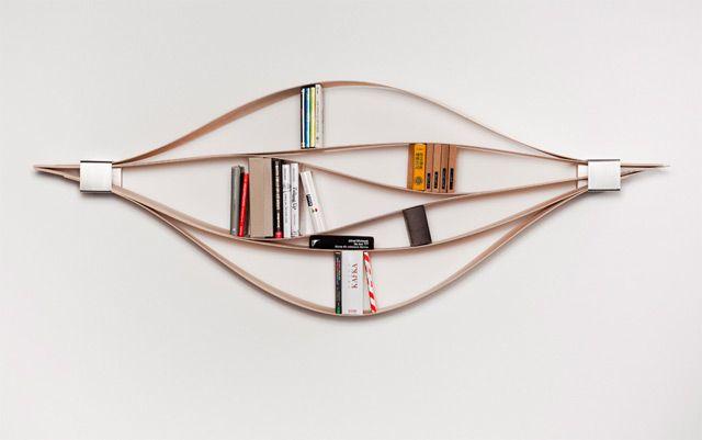 A Flexible Wooden Bookshelf