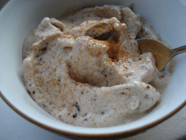 Bananenijs met cacaonids (zonder melkproducten)