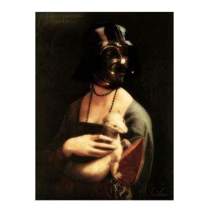 Dark Lady 90x60 cm