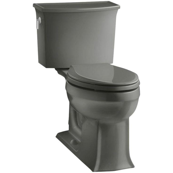 Kohler Memoirs Black Black Watersense Labeled Elongated Chair Height 1 Piece Toilet 12 In Rough In Size 3812 7 Kohler Memoirs Black Toilet Toilet