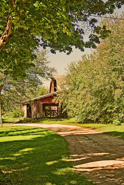 Barn In The Country**