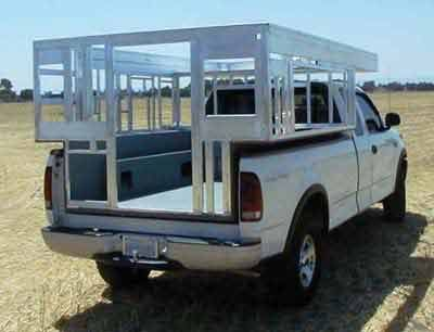 Camper Frame Jpg 400 215 306 Pickup Camper Pop Up Truck