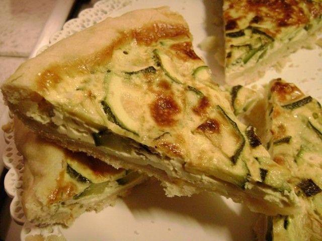 Quiche alle zucchine | #vegan #vegetarian