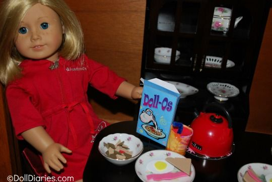 american girl doll breakfast cereal