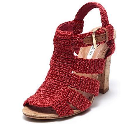 sandalias de crochet, me encantan!