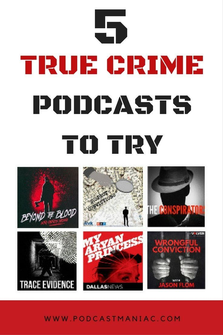 The 5 True Crime Podcasts I Subscribe To | Podcasts For