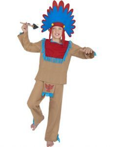 Child:  Buffalo Hunter Red Indian Costume