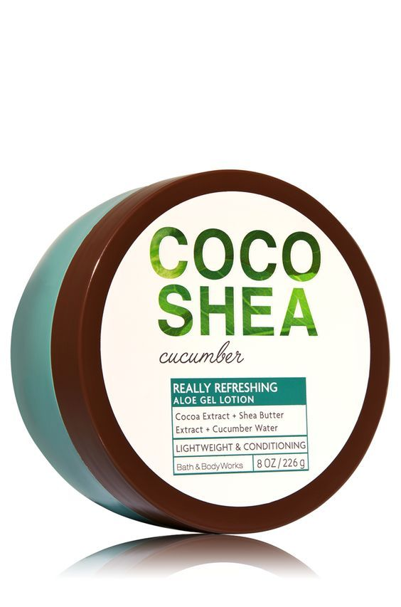 CocoShea Cucumber Aloe Gel Lotion - Signature Collection - Bath & Body Works