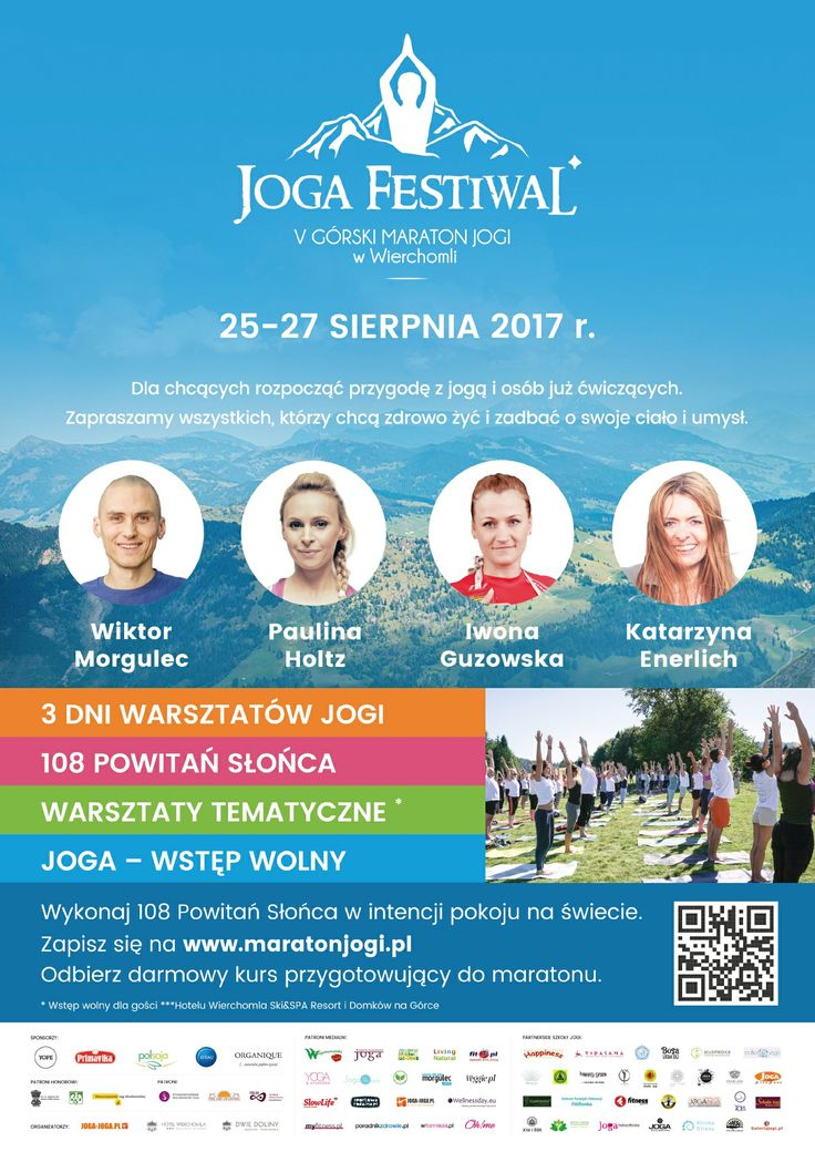 !!! UWAGA UWAGA !!! V Górski Maraton Jogi w Wierchomli zbliża się wielkimi krokami. Pozostało już TYLKO kilka dni do tego niecodziennego wydarzenia. Jeśli chcecie wziąć w nim udział przypominam:  http://www.n-jak-natura.pl/2017/06/v-gorski-maraton-jogi-wydarzenie-jakich.html  Hotel Wierchomla SKI & SPA Resort Dwie Doliny   Na miejscu czeka Was wiele ciekawych atrakcji. Każdy znajdzie coś dla siebie.  ZAPRASZAM