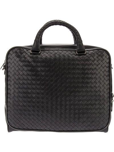 BOTTEGA VENETA Woven Computer Bag