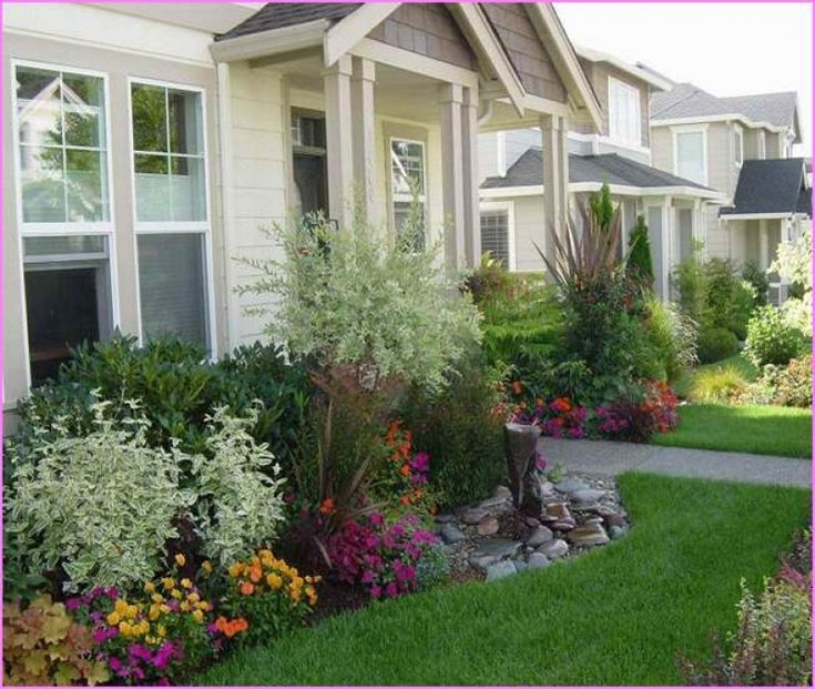 Small Front Yard Landscaping Ideas Townhouse : Ideas about small front yards on