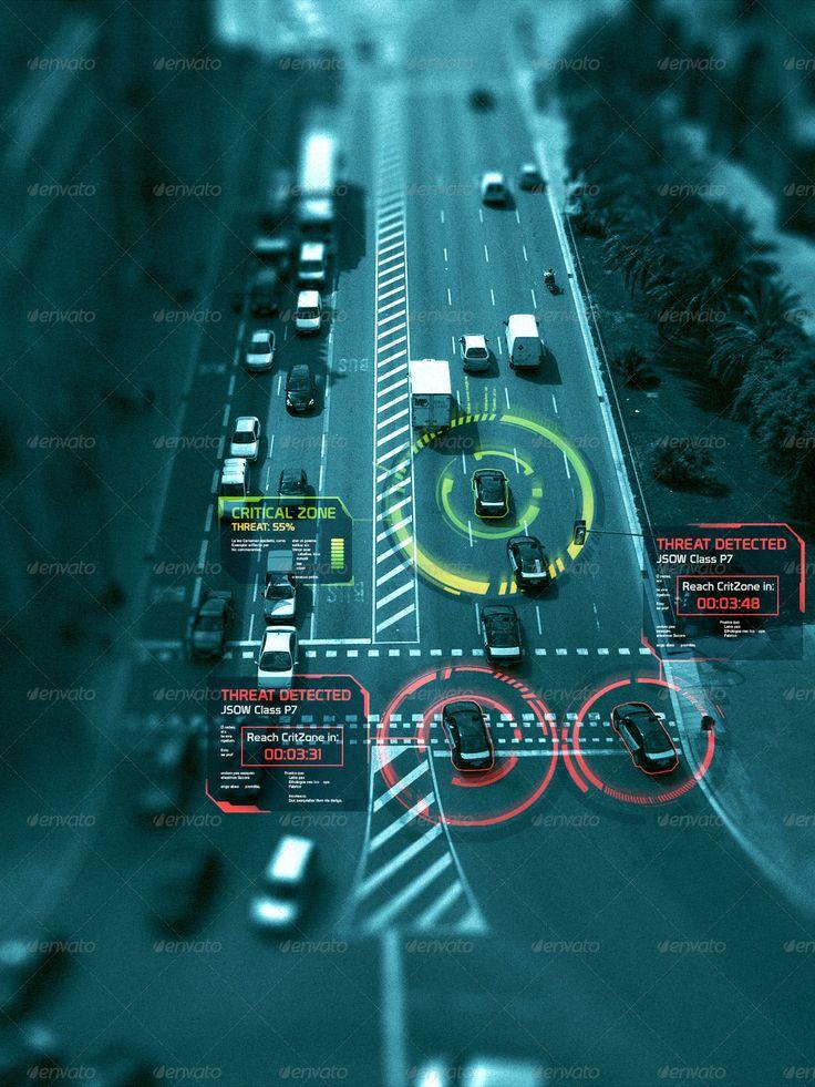 Hi-Tech HUD Shapes Vol.4 \\\ military inspo for UI