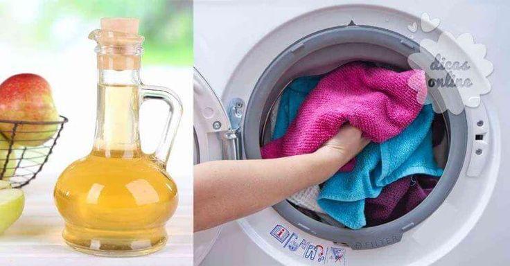 10 utilidades do vinagre para lavar roupa suja