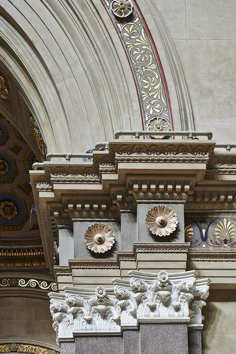 Design Brooklyn: The Williamsburgh Saving Bank's Starry Dome.  Photo:  Brownstoner.