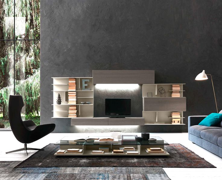Incroyable I Modulart Wall Unit   Contemporary Italian Designer U0026 Luxury Furniture At  Cassoni.com