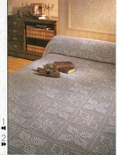 Szydełkomania: Bedspread